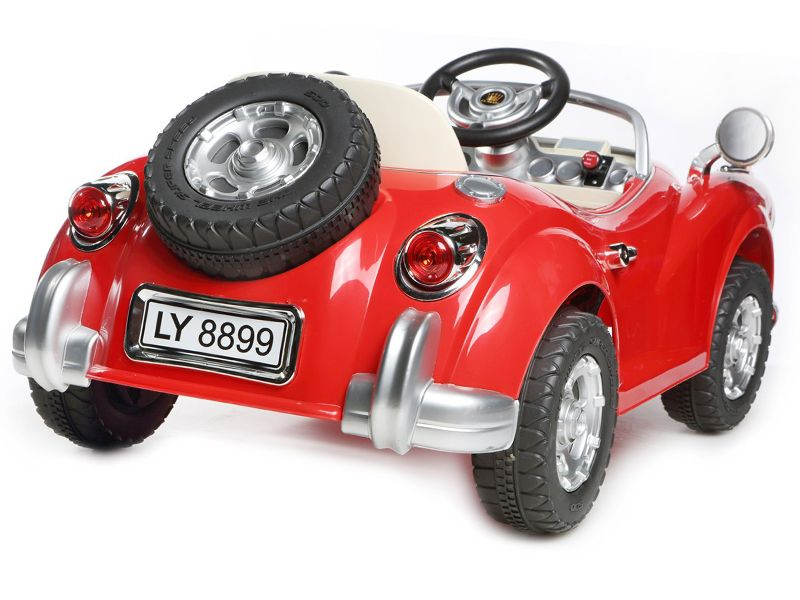 toyandmodelstore ride on cars for kids uk 12v motorised ride in retro sportscar electric battery car with